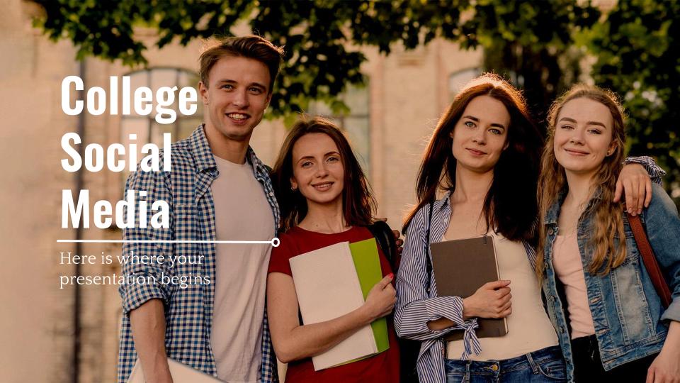 Réseaux sociaux pour l'Université : Modèles de présentation