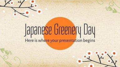 Tag des Grüns Präsentationsvorlage