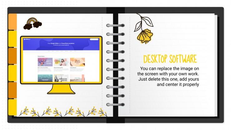 Weekly Mindme Planner presentation template