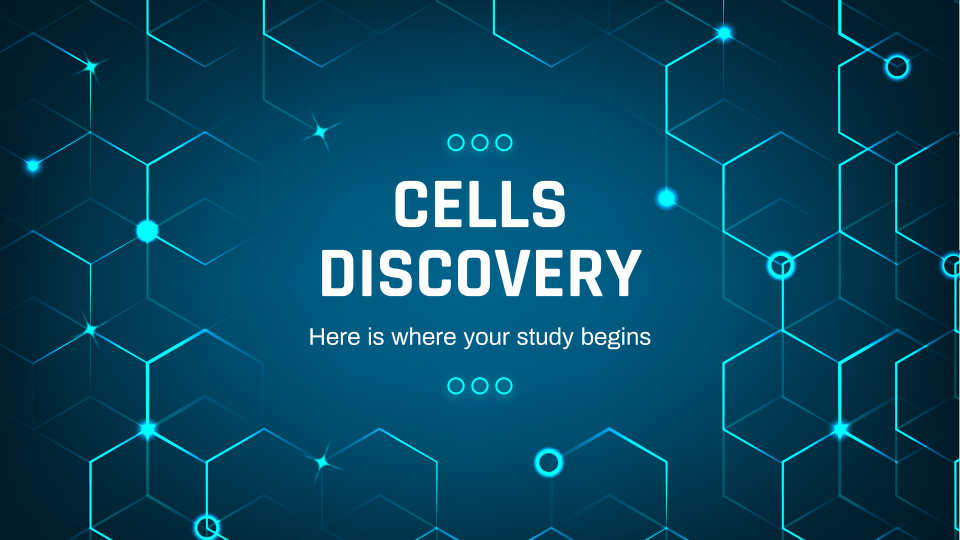 Cells Discovery presentation template