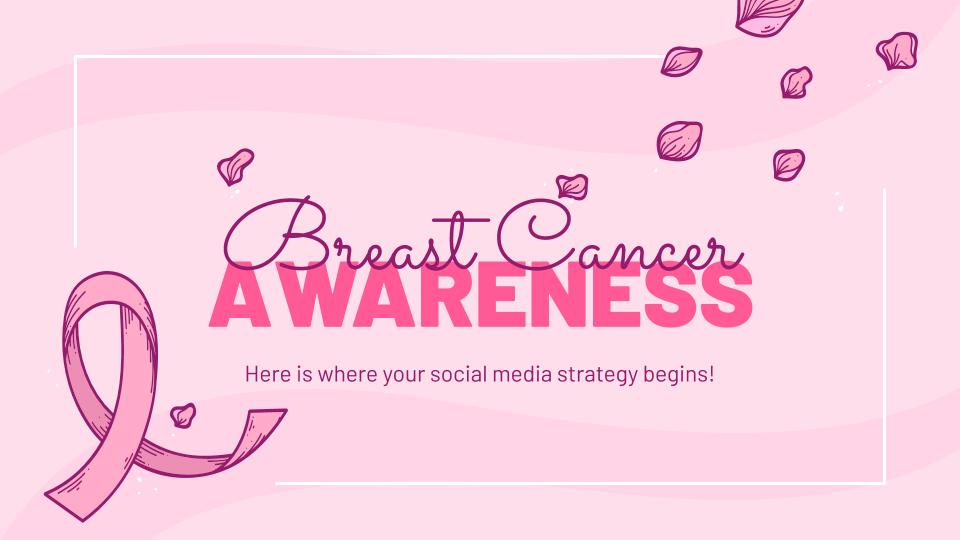Sensibilisation au cancer du sein : Modèles de présentation