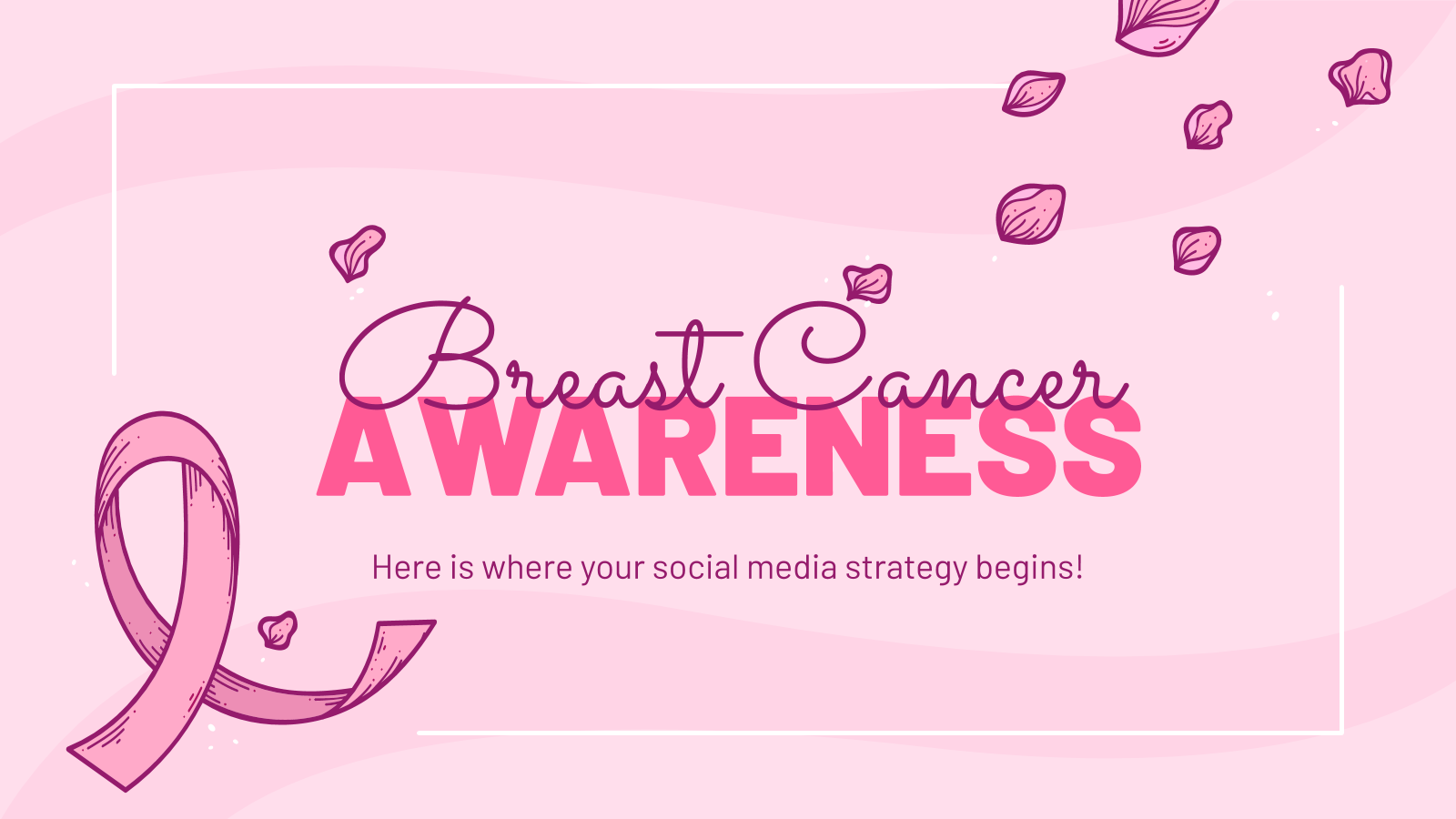 Breast Cancer Awareness presentation template