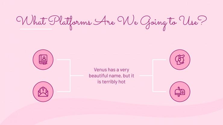 Plantilla de presentación Concienciación: Cáncer de mama
