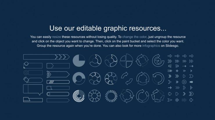Pitch deck d'entreprise minimaliste : Modèles de présentation