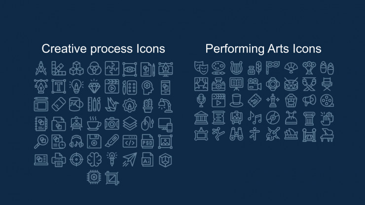 Plantilla de presentación Propuesta de proyecto con doodles