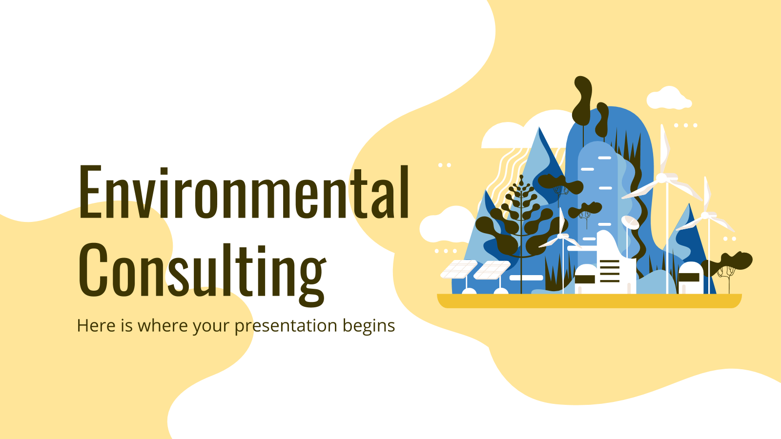 Modelo de apresentação Consultoria ambiental
