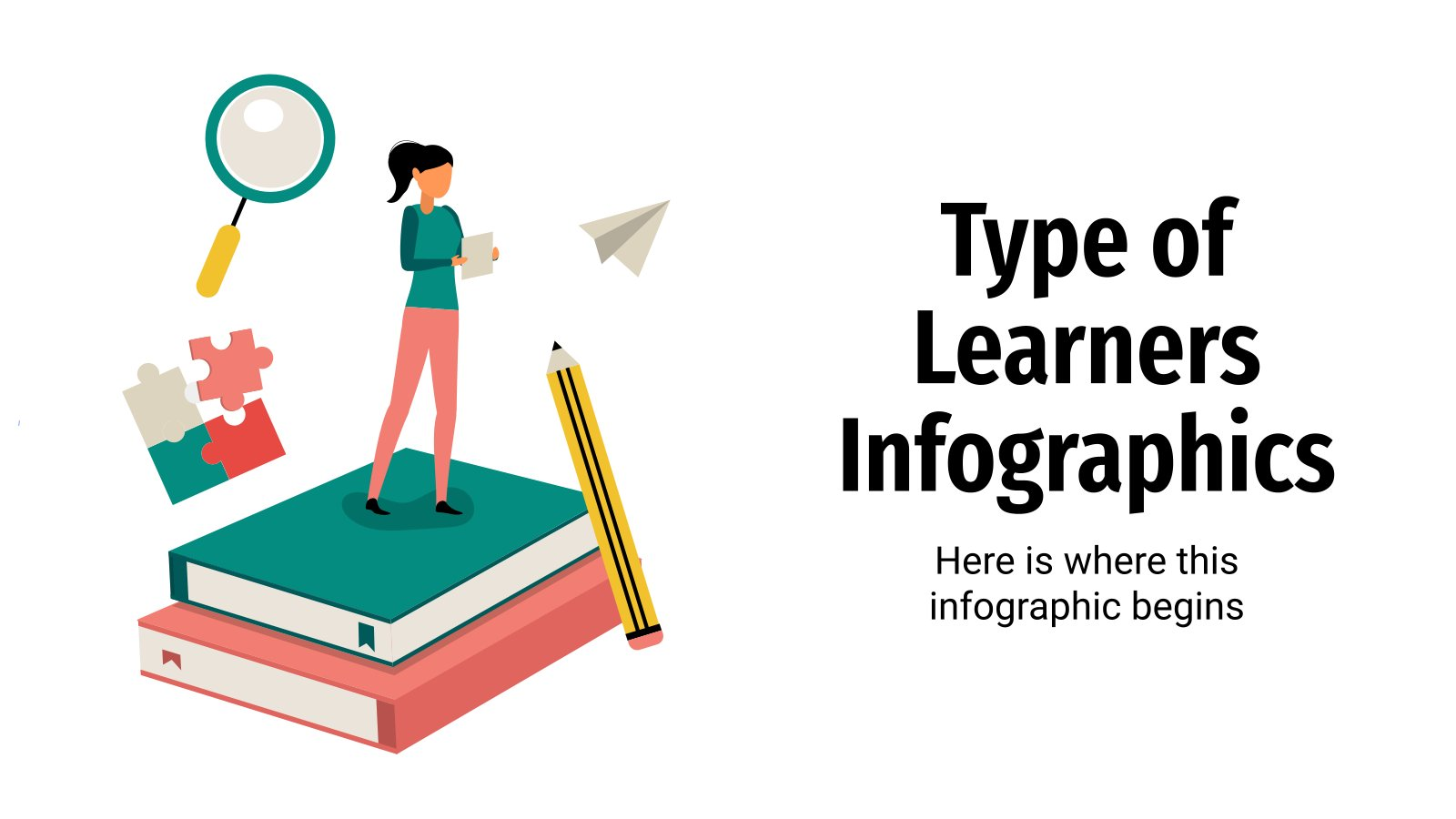 Type of Learners Infographics presentation template
