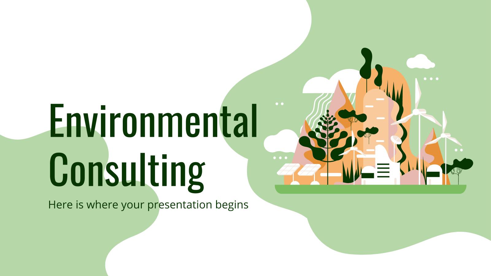 Environmental Consulting presentation template