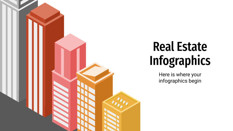 Real Estate Infographics presentation template