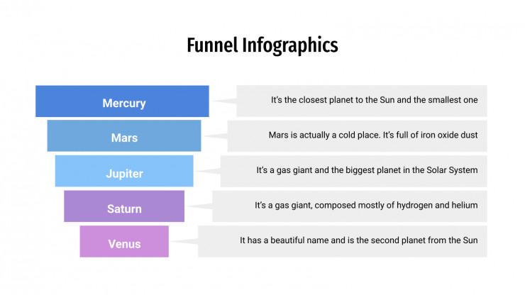 Funnel Infographics presentation template