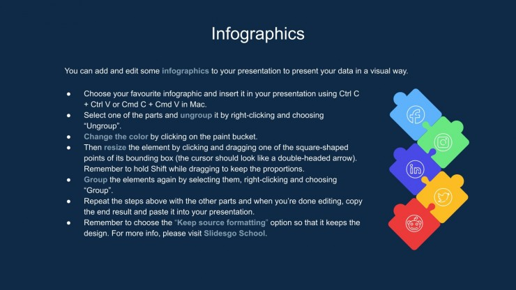 Doodle Statistics Infographics presentation template
