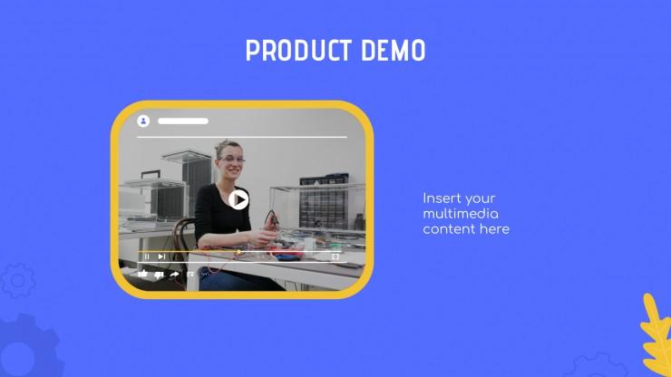 Pitch deck Crobot : Modèles de présentation