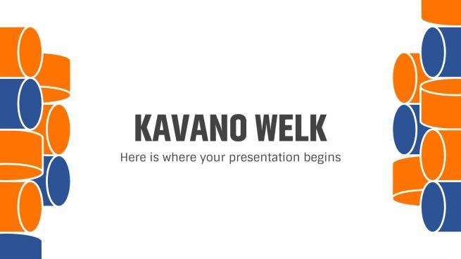 Plantilla de presentación Kavano Welk