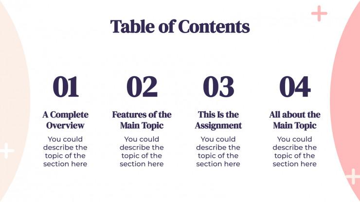 Cours d'arithmétique : Modèles de présentation