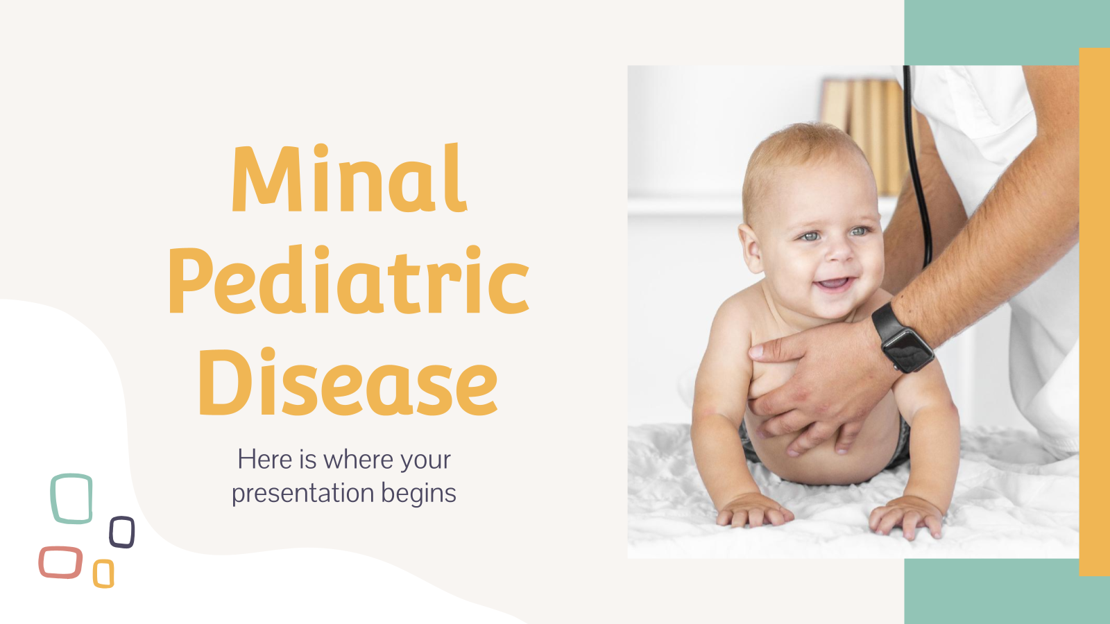 Maladie pédiatrique Minal : Modèles de présentation