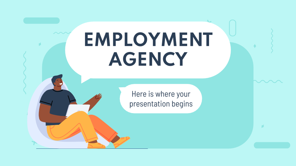 Employment Agency presentation template