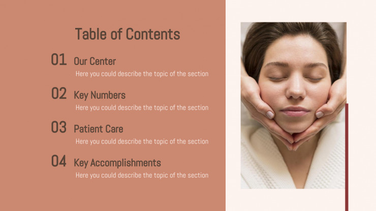 Wellness Center presentation template