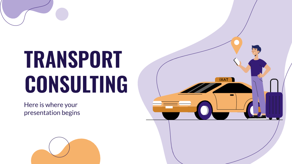 Transport Consulting presentation template