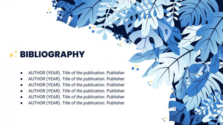 Abschlussarbeit in Ökologie Präsentationsvorlage