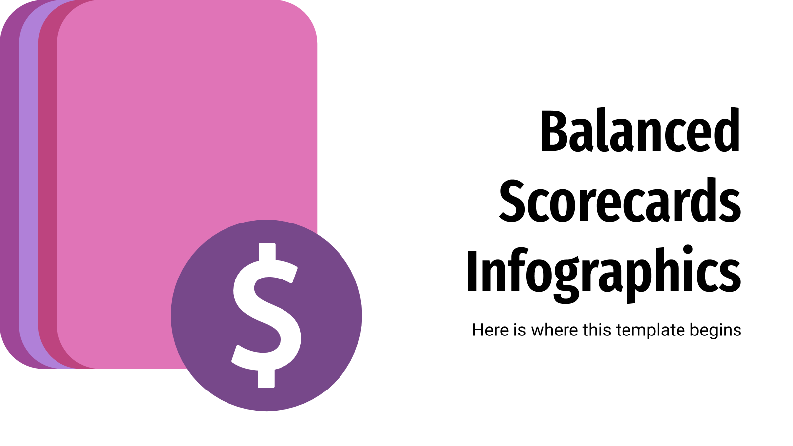 Balanced Scorecards Infographics presentation template