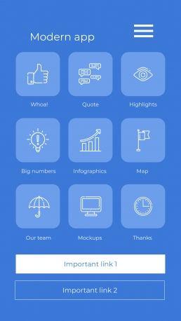 Application moderne : Modèles de présentation
