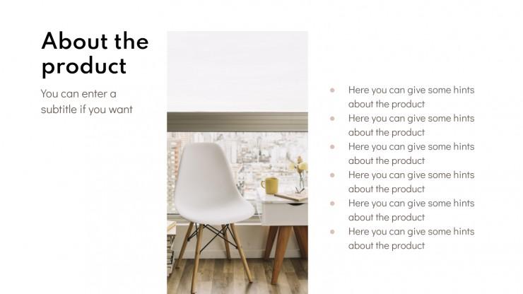 Plantilla de presentación Plan de marketing de inmobiliarias