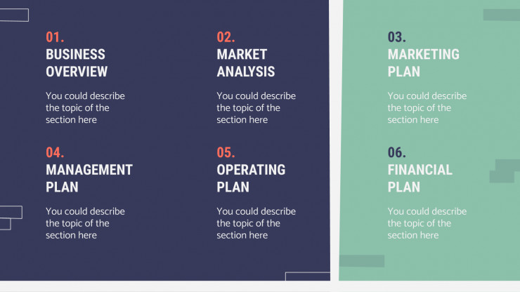 Real Estate Business Plan presentation template
