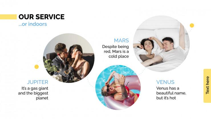 Geschäftsplan für Tourismusunternehmen Präsentationsvorlage