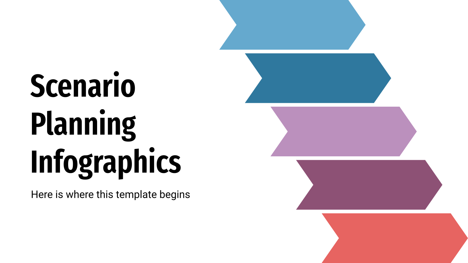 Scenario Planning Infographics presentation template