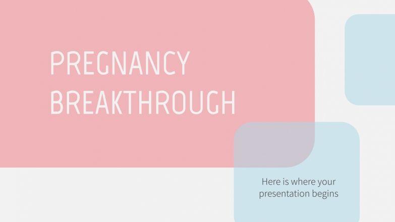 Plantilla de presentación Avances médicos sobre el embarazo