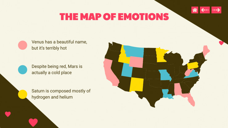 Plantilla de presentación Fichas de emociones