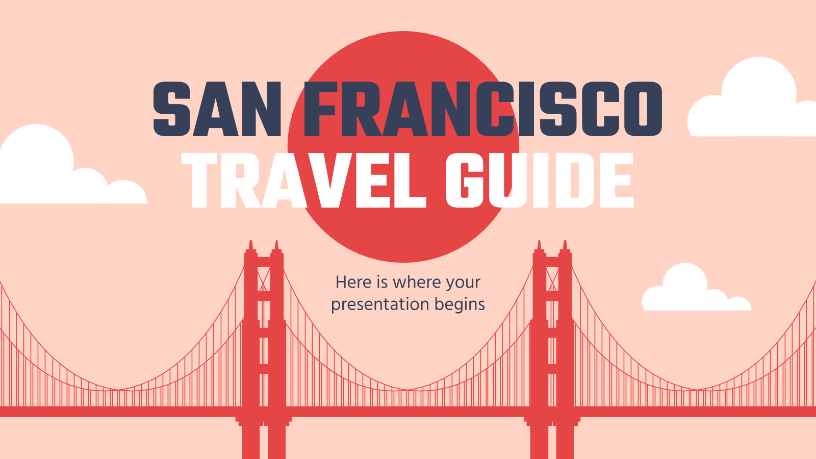 Travel Guide: San Francisco presentation template