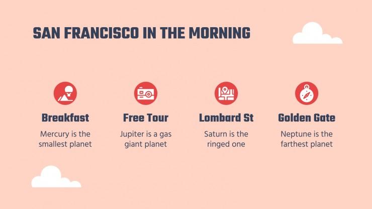 Modelo de apresentação Guia de viagem: São Francisco
