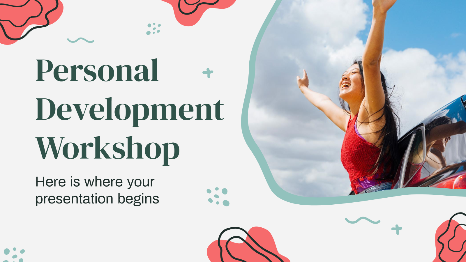 Personal Development Workshop presentation template