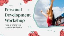 Plantilla de presentación Taller de desarrollo personal
