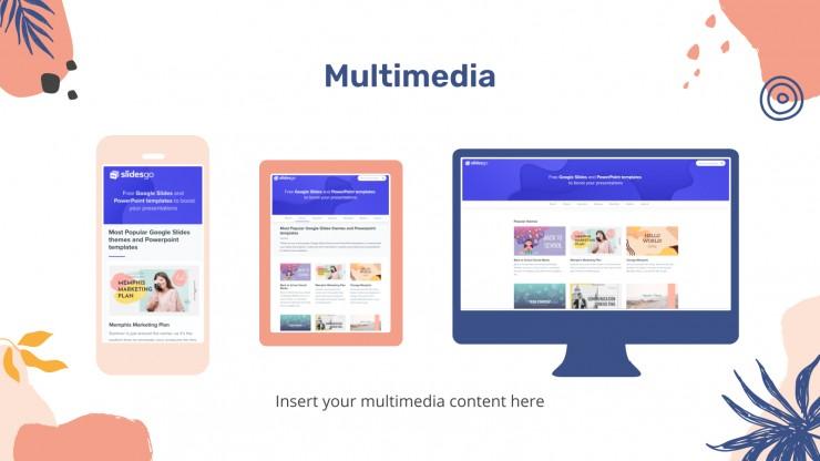 Nice Dreamy Portfolio presentation template