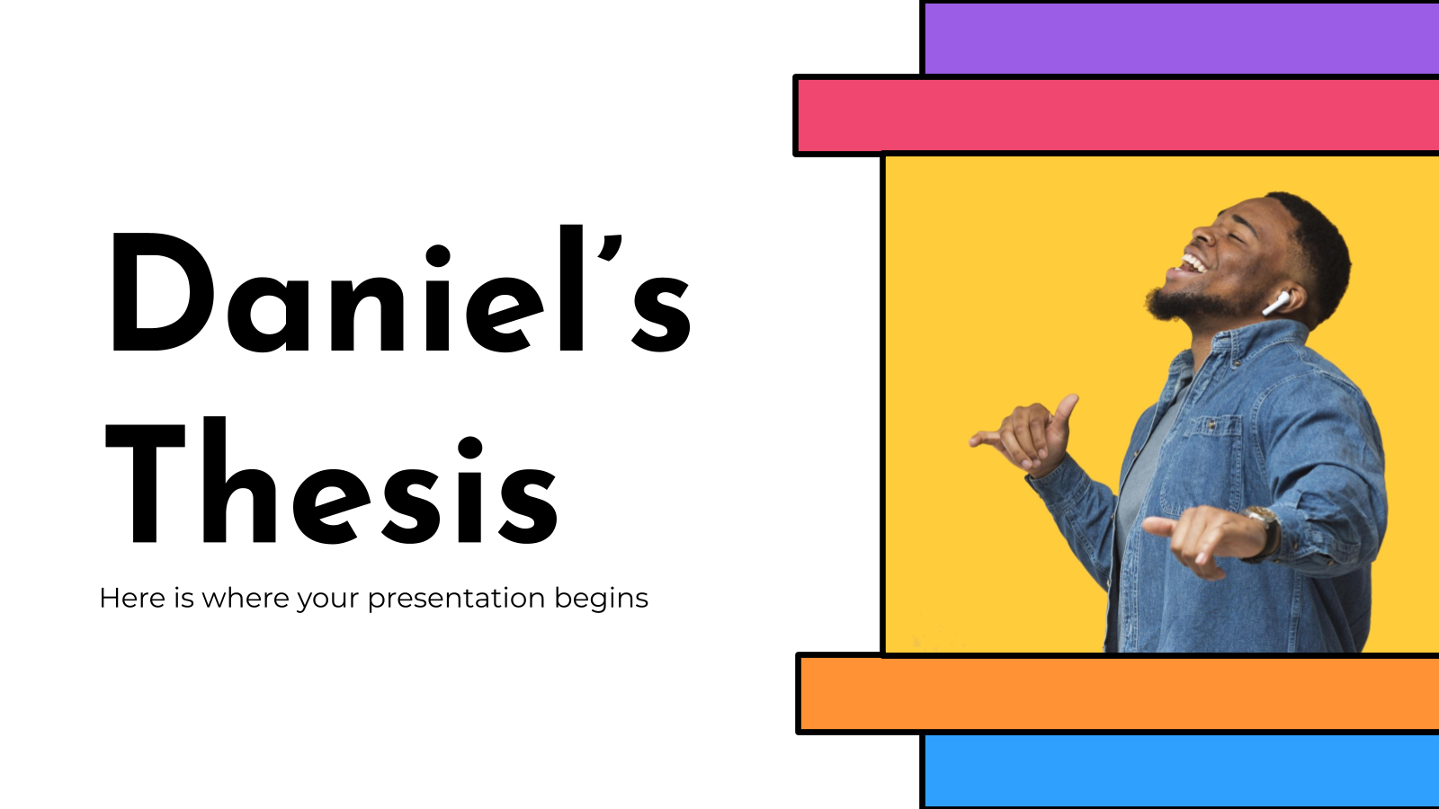 Daniel's Thesis presentation template