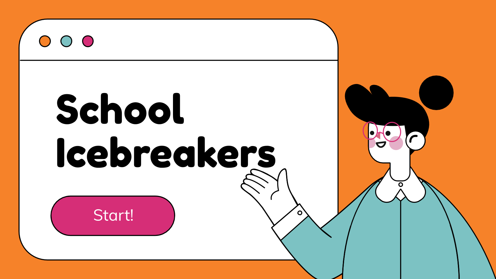 School Icebreakers presentation template