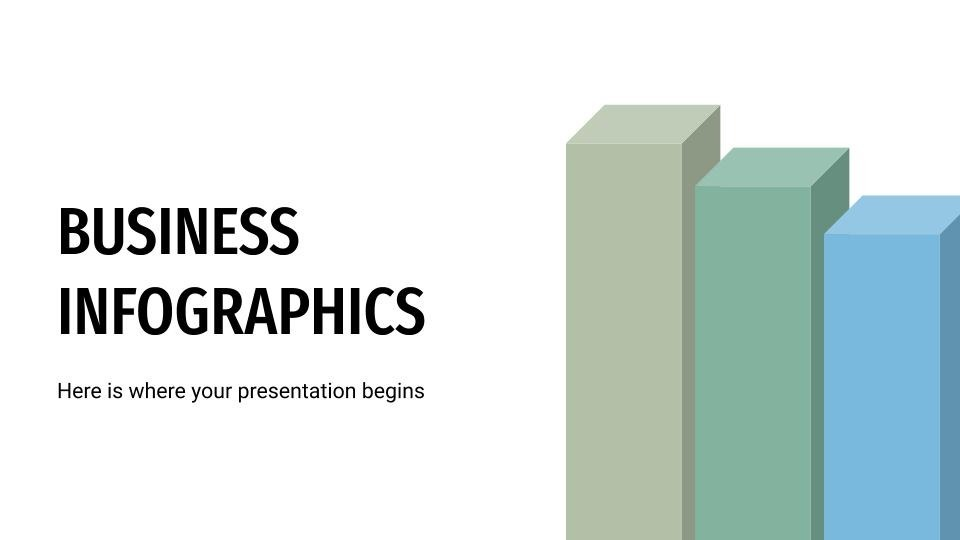 Business Infographics presentation template