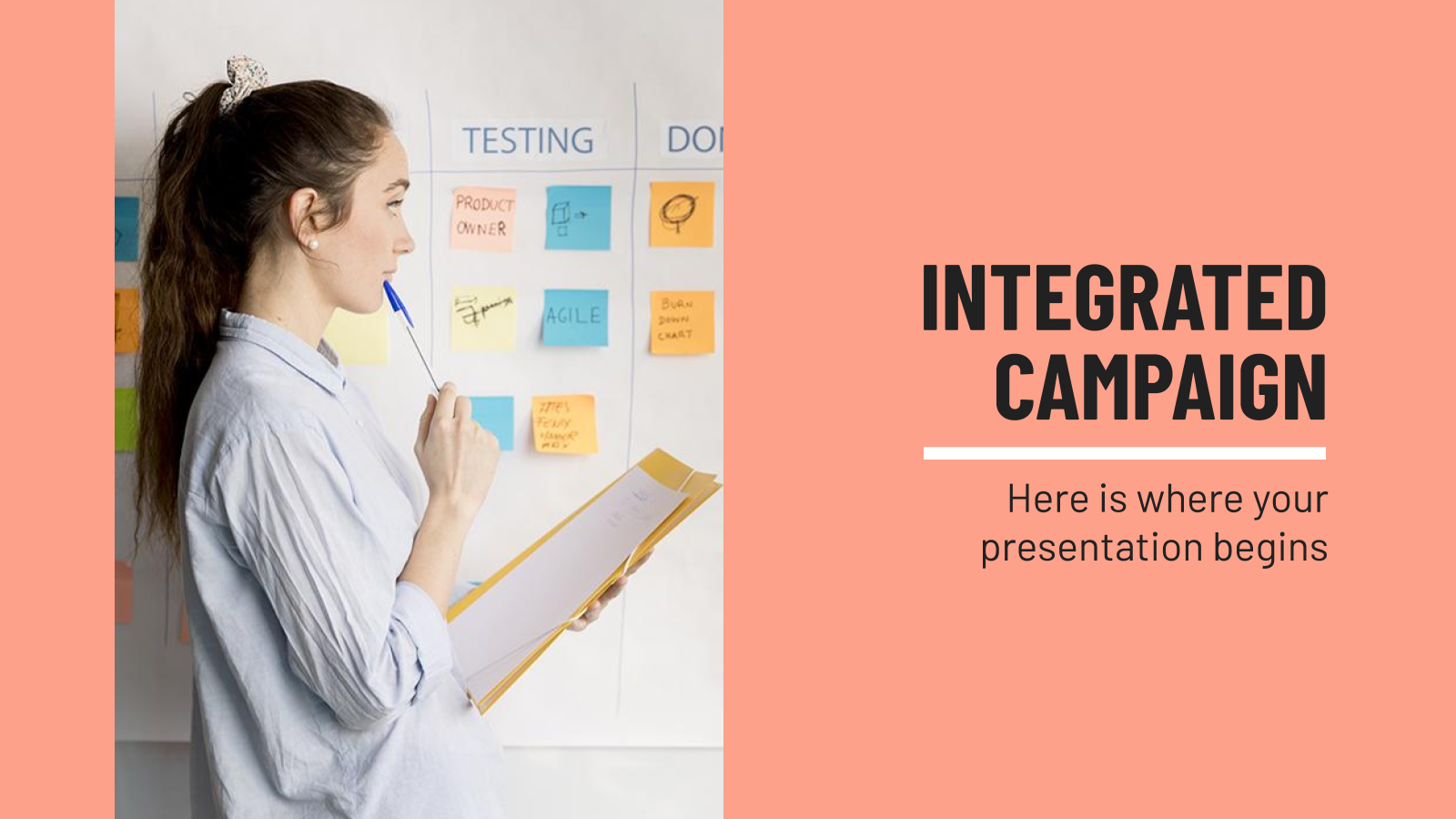 Integrated Campaign presentation template