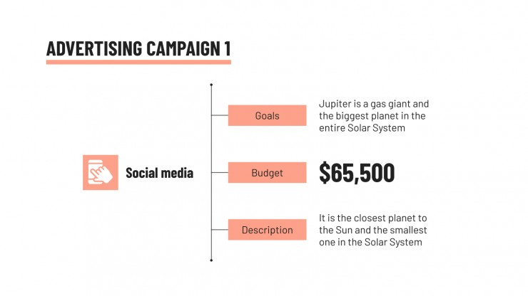 Modelo de apresentação Campanha integrada