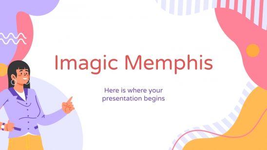 Imagic Memphis : Modèles de présentation