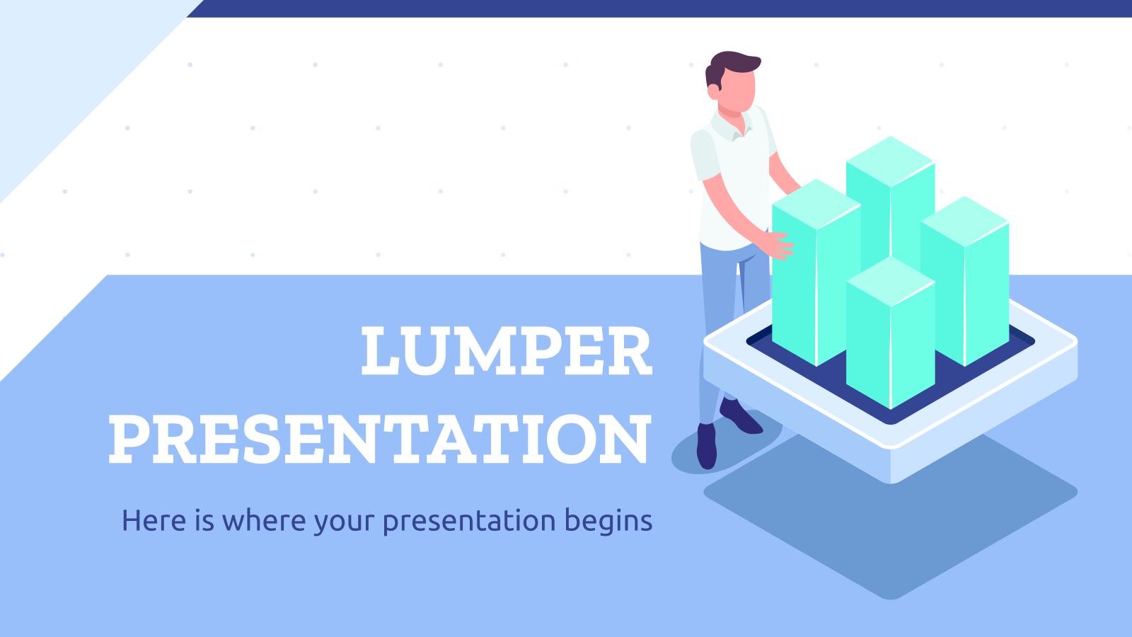 Lumper Affaires : Modèles de présentation