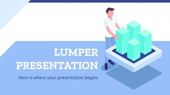 Plantilla de presentación Plan de negocios Lumper