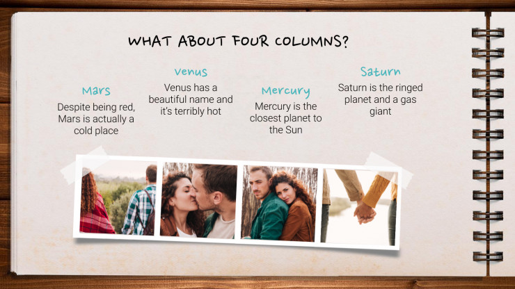 Memories Photo Album presentation template