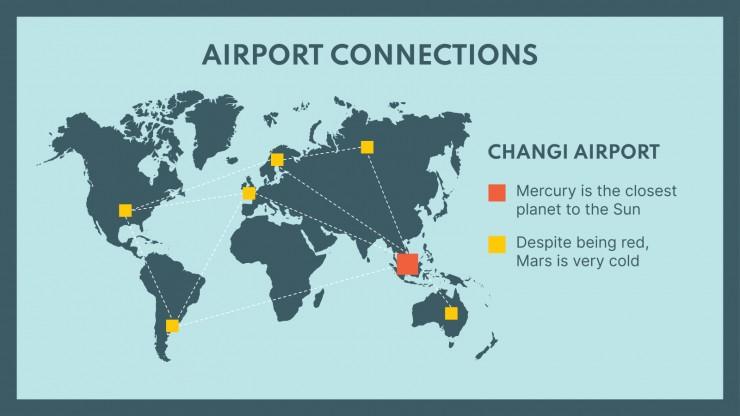 Modelo de apresentação Guia de viagem: Singapura