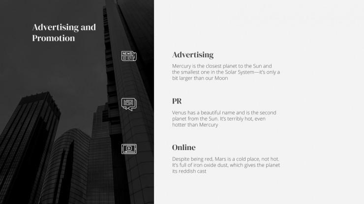 Plantilla de presentación Plan de negocios para inversores