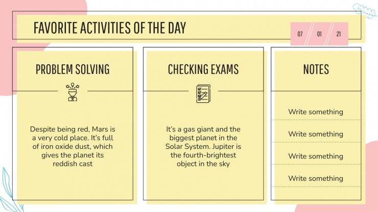 Mative Lesson Plan presentation template