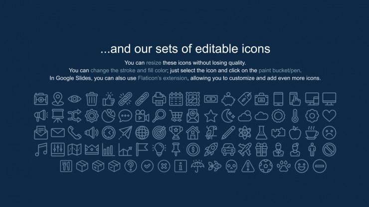 Pitch deck néon : Modèles de présentation