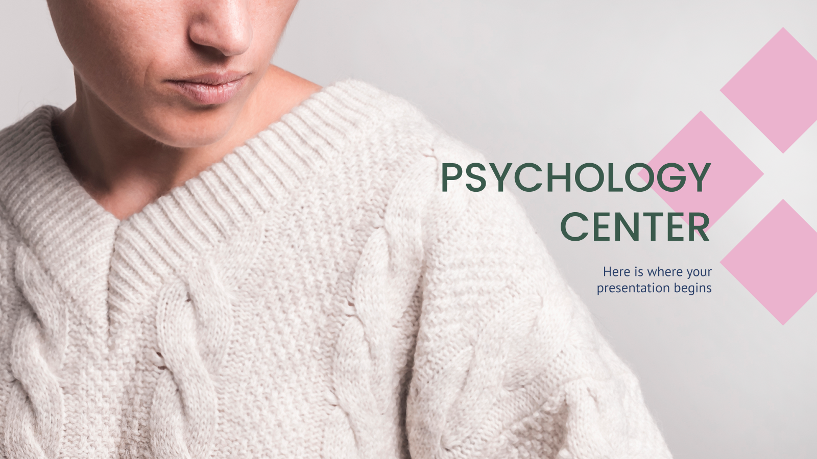 Plantilla de presentación Centro de psicología